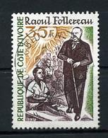 R De Côte D'Ivoire - YT N° 380 Raoul Follereau. - Ivory Coast (1960-...)