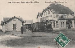 Lure (Haute-Saône) - Gare Du Tramway Et Les Hôtels - Lure