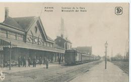 Menen - Menin - Intérieur De La Gare - Binnenzicht Der Statie - Menen