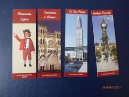 Lot De 7 Marque- Pages  Amiens - Bookmarks