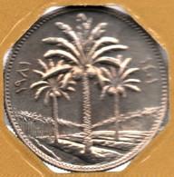 IRAK 25 FILS 1401 (1981) KM# 127  Palmiers-Dattier - Iraq