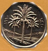 IRAK 50 FILS 1410 (1990)   KM# 128  Palmiers-Dattier - Iraq