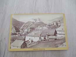Photo Collée Sur Carton 15.5 X 9.8 Château Queyras Hautes Alpes - Plaatsen
