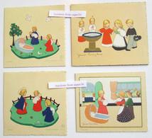 4 Geboortekaartjes / 4 Cartes De Naissances James Pennyless, 1943, 1946 & 1949 - Collections