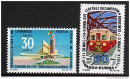 Cameroun  N° 477 / 78  XX Chemin De Fer Mbanga-Kumba.  La Série Des 2  Valeurs  Sans Charnière TB - Cameroun (1960-...)