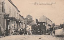 CENAC (Dordogne) - Hôtel PASQUET - Ligne Du Tramway Sarlat-Villefranche - Otros Municipios