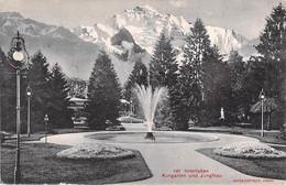 INTERLAKEN. Kurgarten Und Jungfrau. - BE Berne