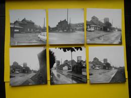 Photos ,Tramways Et Gares D 'EURE Et LOIR , Collection Bourneuf ,lire Descriptif ,Prunay Le Gillon Et Bernay (Eure) - Trains