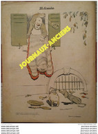 1903 LE SOURIRE - Journal Humoristique - Dessins De  Jean VILLEMOT - BAC - HUARD - BOFA - JUDGE - ETC .... - 1900 - 1949