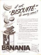 "PUB  "" BANANIA "" 1963  ( 42) - Chocolat"