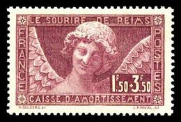 N°256 ** Sourire De Reims, Très Bon Centrage, TB Cote 160€ - Unused Stamps