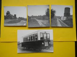 Photos ,Tramways Et Gares De L'EURE, Collection Bourneuf ,lire Descriptif ,Glos Montfort - Trains