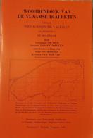 (MOLENS) Woordenboek Van De Vlaamse Dialekten. De Molenaar. - History