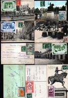 9 Cartes Postales Avec Vignette Jeanne D'Arc - Autres