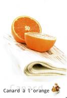 Canard à L'orange - éditions Valoire-Estel, Photo Patrick Rougereau,  - Neuve - Recipes (cooking)