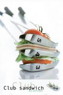 Club Sandwich Au Lard Fumé - éditions Valoire-Estel, Photo Patrick Rougereau,  - Neuve - Recipes (cooking)