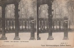 75017 - PARIS - Parc Monceau - La Taumachie - Vues Stéréoscopiques Julien Damoy - Cartoline Stereoscopiche