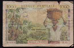 CAMEROUN Billet 1000 Frs CFA 1962 KM12b - Cameroon