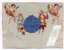 Carte Postale Fantaisie  Double Decoupis - Sonstige