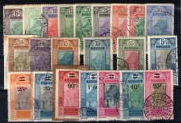 Guinea Francesa. Nº 84/106. Años 1922/27 - Usati