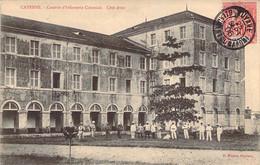 GUYANE Française Animation Dans La Cour De La Caserne D'Infanterie Coloniale De CAYENNE - Cayenne