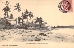 GUYANE Française Le Pénitencier De CAYENNE Vu De La Mer - Cayenne