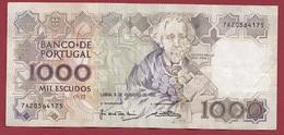 Portugal 1000 Escudos Du 06/02/1982 (Sign #) Dans L 'état (12) - Portugal