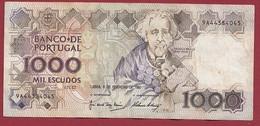 Portugal 1000 Escudos Du 06/02/1982 (Sign #) Dans L 'état (13) - Portugal