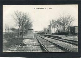CPA - ST AGNANT - La Gare - Les Quais, Les Voies - Otros Municipios
