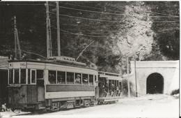 Photo - TNL - Tramway - Ligne Menton Sospel - Tunnel Du Castillon - Photo Laurent - Trains