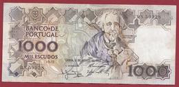 Portugal 1000 Escudos Du 02/08/1983  Dans L 'état (14) - Portugal