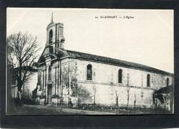 CPA - ST AGNANT - L'Eglise - Otros Municipios