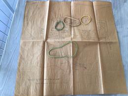 Plan D'époque Sur Papier Fin  De Richelle En 1552 D'après Un Livre De Recette - Unclassified
