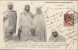 CPA Algérie Insurrection De Margueritte Les Six Principaux Inculpés YT 124 France CAD Montpellier 1903 - Sonstige