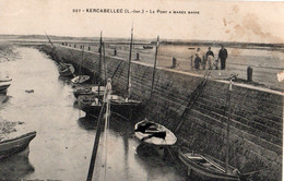 44 MESQUER - KERCABELLEC -  337 - Le Port à Maréee Basse - Mesquer Quimiac