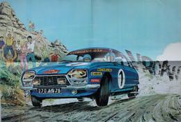 Poster Publicitaire Jean GRATON Michel Vaillant CITROEN GSX Voiture Auto Automobile Oldtimer - Sin Clasificación