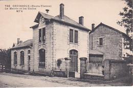 CHEISSOUX LA MAIRIE ET LES ECOLES REF 71388 - Other Municipalities