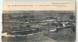 25129 - COUCY LE CHATEAU AUFFRIQUE - LA VALLEE DE L AILETTE / VUE DU CHATEAU DE - Sin Clasificación