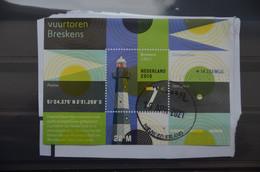 C 324 ++ NEDERLAND NETHERLANDS 2010 LIGHTHOUS VUURTOREN USED GESTEMPELD - Gebraucht