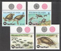 H1204 SOLOMON ISLANDS FAUNA SEA TURTLES 1SET MNH - Schildpadden
