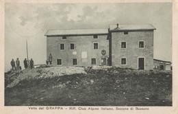 Cartolina - Postcard / Viaggiata - Sent /  Bassano Del Grappa - Rifugio Club Alpino. - Vicenza