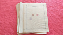 Lot N° TH 500 ROUMANIE Collection Semi Moderne Sur Page D'albums   Neufs X Ou Obl. - Sammlungen (im Alben)