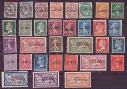⭐ Algérie - YT N° 1 à 33 ** - Neuf Sans Charnière - 1924 / 1925 ⭐ - Nuevos
