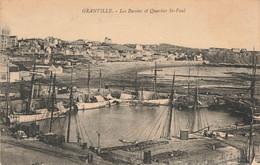 GRANVILLE : LES BASSINS ET QUARTIER SAINT PAUL - Granville