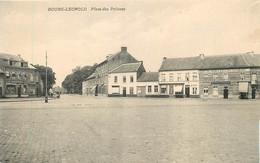 Belgique - Leopoldburg : Place Des Princes - Café Du Tram - Leopoldsburg