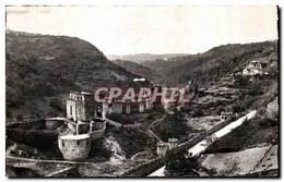CPA Le Chateau De Chouvigny Et La Vallee De La Sioule - Non Classificati