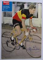 Frans DEMULDER - Signé - Dédicace - Autographe Authentique - - Cycling