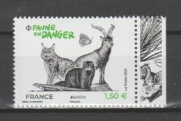 """FRANCE / 2021 / Y&T N° 5489 ** : Europa """"Faune En Danger"""" X 1 BdF D - Neufs"""