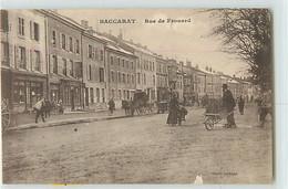 10955 - BACCARAT - RUE DE FROUARD - Baccarat