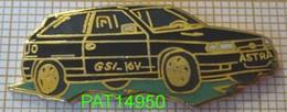 OPEL ASTRA GSI 16V En Version EGF   DEMONS & MERVEILLES - Opel
